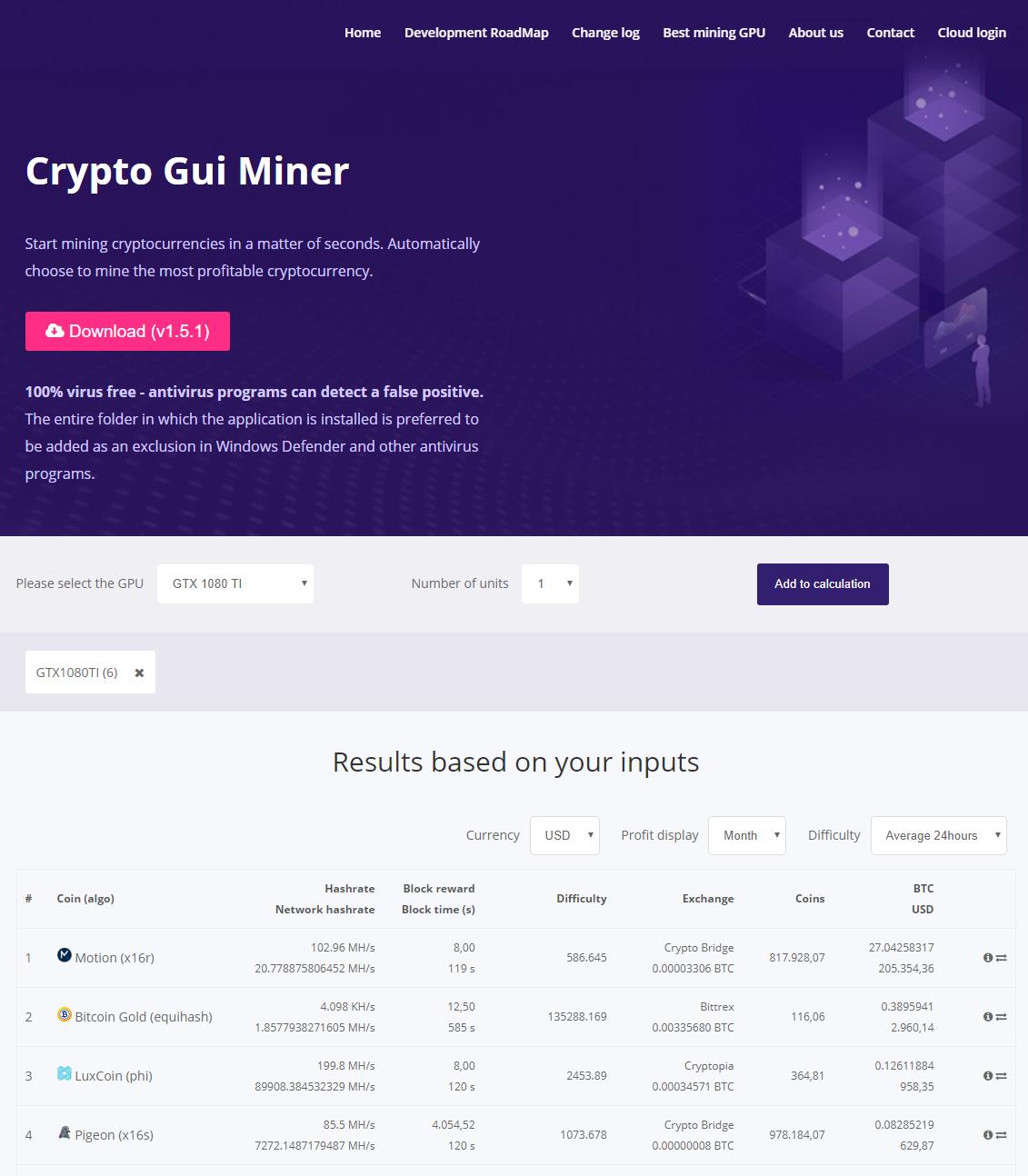 Crypto Gui Miner – Invictum